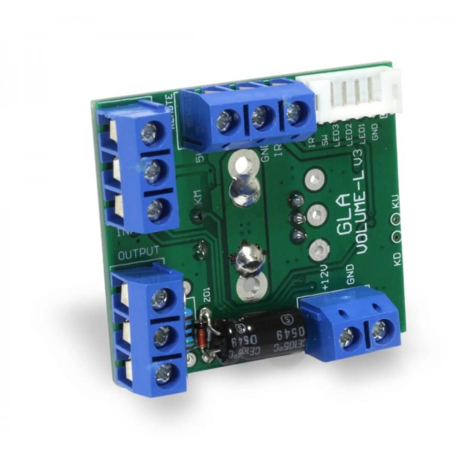 Volume control module / Display / Remote control - Audiophonics