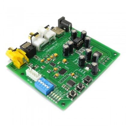 ESS ES9028Q2M I2S DAC Module Board 32bit 384khz Balanced DSD 1x LT1963 Regulators