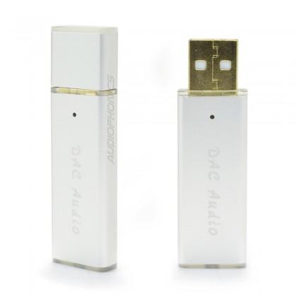 Compact USB DAC & Amplifier ES9018K2M TPA6133A2 OTG 24bit 96kHz