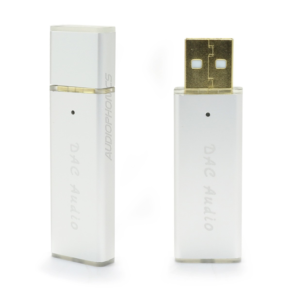 Headphone USB DAC & Amplifier ES9018K2M TPA6133A2 OTG 24bit 96kHz