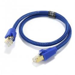 FURUTECH LAN-7 Câble Ethernet RJ45 Cat 7 Cuivre OCC plaqué Argent 0.6m