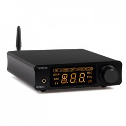 TOPPING DX3 Pro DAC and Headphone amplifier Bluetooth apt-X Black