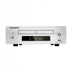 SHANLING TEMPO eC1B CD Player and USB Flash Drive File Reader Silver