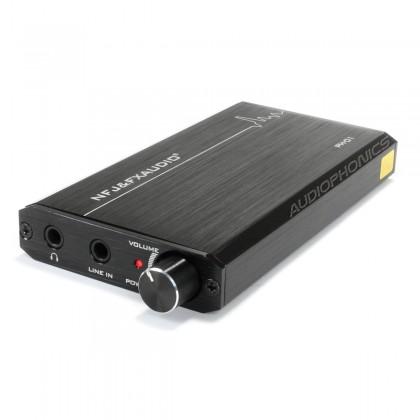 FX-AUDIO PH-01 Portable Headphone Amplifier 2x OPA NE5532 Black