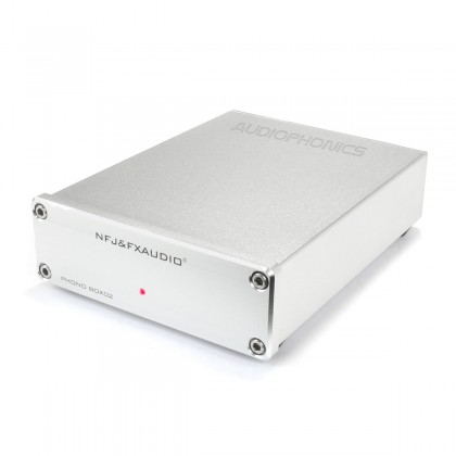 FX-AUDIO BOX02 Préamplificateur Phono MM/MC NJM2068 TL071