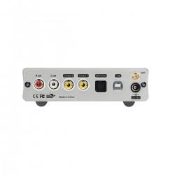 TOPPING DX3 Pro DAC 2x AK4493EQ XMOS XU208 32bit/768kHz Headphone amplifier Bluetooth aptX HD Silver