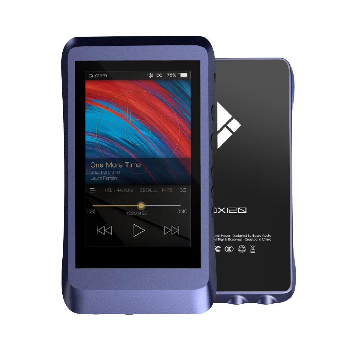 IBASSO DX120 Baladeur Numérique DAP HiFi DAC AK4495 32bit 384kHz DSD128 Bleu