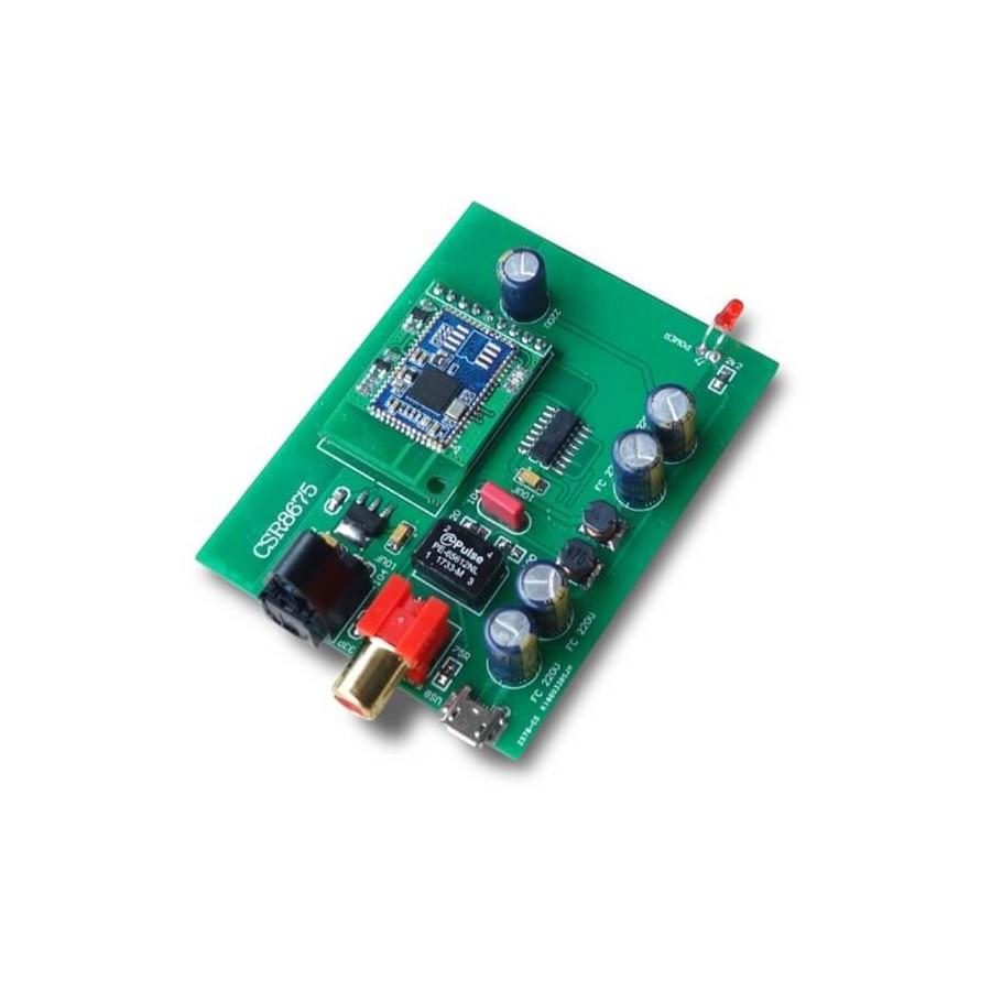 Bluetooth Receptor 5 0 Aptx Hd Csr8675 To Coaxial En Toslink Spdif Audiophonics