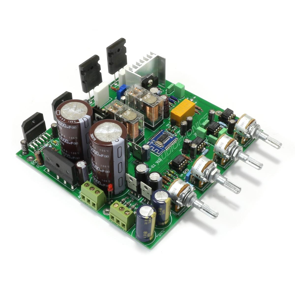 2.1 Amplifier Module Bluetooth 2x68W + 1x150W LM3886 with Tone Control