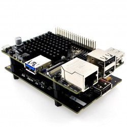 ALLO USBRIDGE Aluminium - Lecteur réseau audio Volumio pour DAC USB