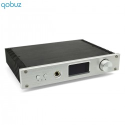FX-AUDIO D2160 Amplificateur FDA Bluetooth 4.2 Class D TAS5614 2x65W 8 Ohms Argent