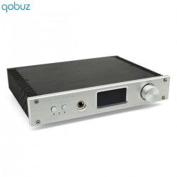 FX-AUDIO D2160 MKII Amplificateur FDA Bluetooth 5.0 Class D TAS5614 2x100W 4 Ohm Argent