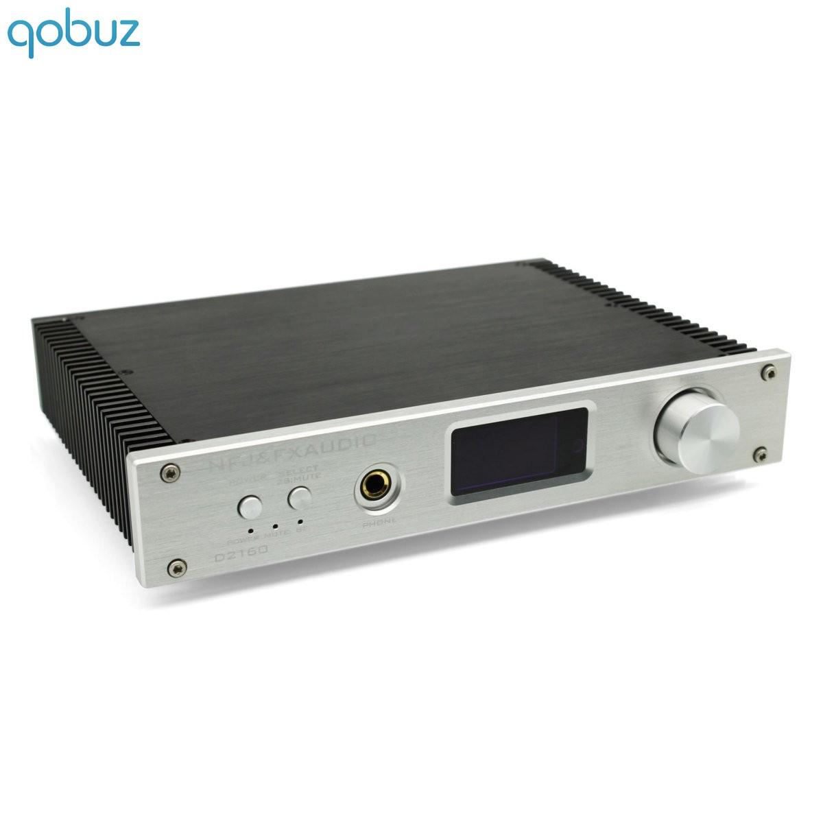 FX-AUDIO D2160 Amplificateur FDA Bluetooth 4.2 TAS5614 2x65W 8 Ohms Argent
