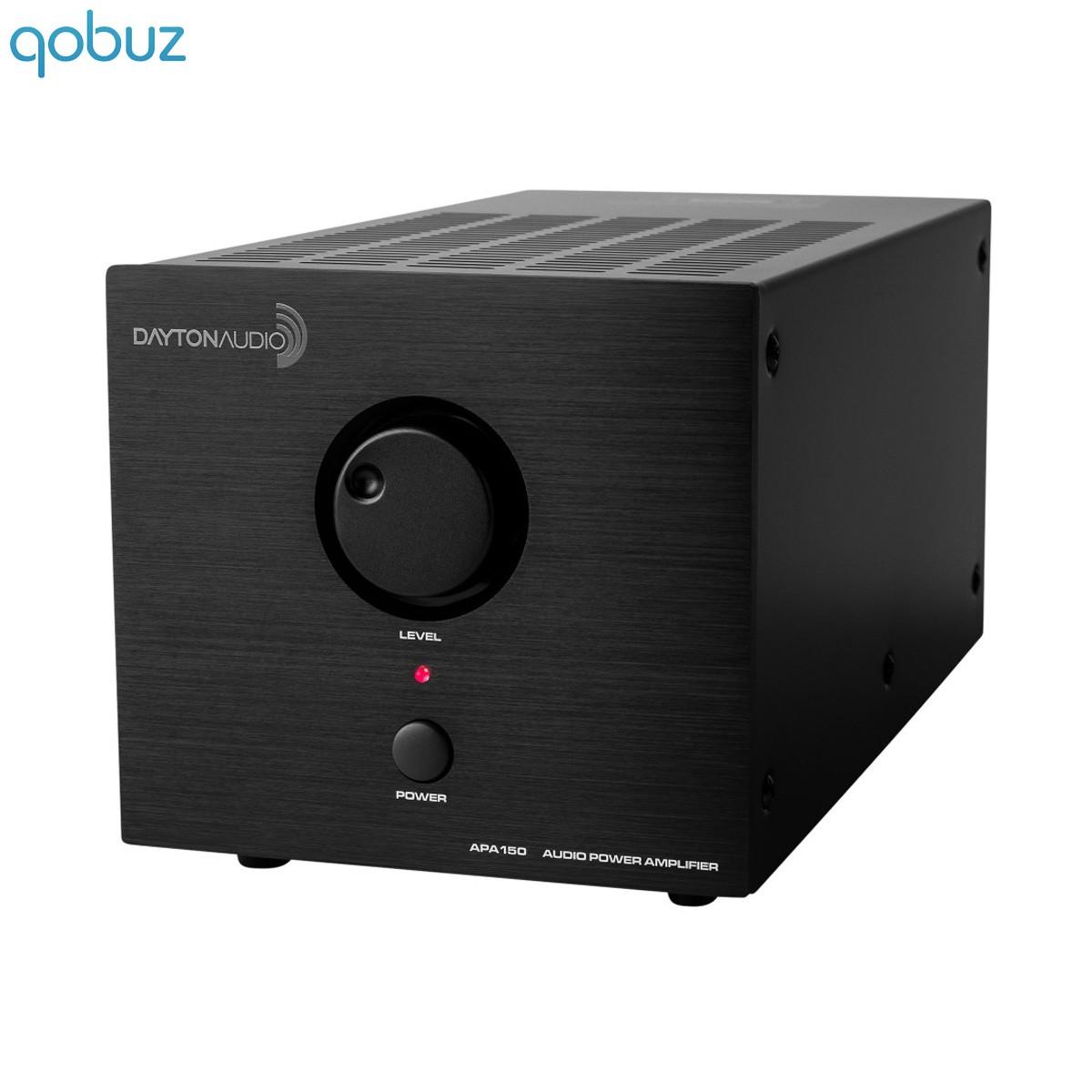 DAYTON AUDIO APA150 Amplificateur class A/B 2x75W 4 Ohm Noir