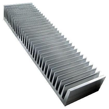 Radiateur de Dissipation Thermique Forte Puissance Alu 300x120mm