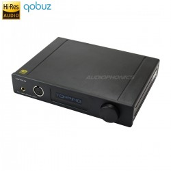 TOPPING DX7s 2xES9038Q2M DAC / Preamplifier / Headphone ampli DSD 32bit / 768kHz Balanced Black