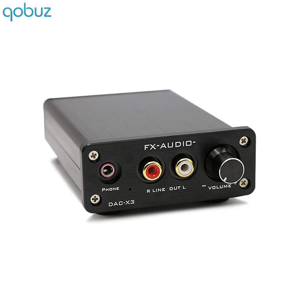 FX-AUDIO DAC-X3 DAC / Headphone amplifier CS4344 24bit / 192kHz Black