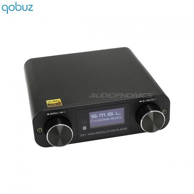 SMSL DP1 Digital audio Player / Headphone amplifier MAX97220A with DAC  AK4452