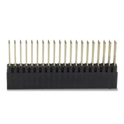 2.54mm Male / Female Pin Header 2x20 Pins 11mm (Unit)