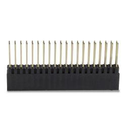 Connecteur Barrette 2.54mm Mâle / Femelle 2x20 Pôles 11mm (Unité)