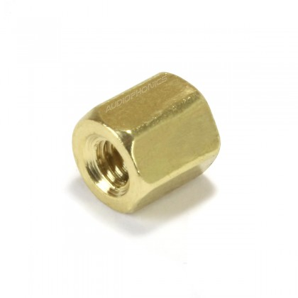 Brass Spacers M2.5x5mm Female / Female (x10)