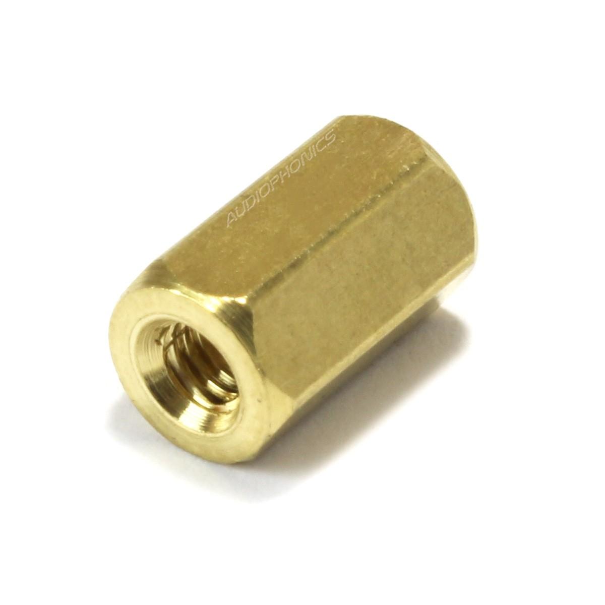 Brass Spacers Female / Female M2.5x8mm (x10)