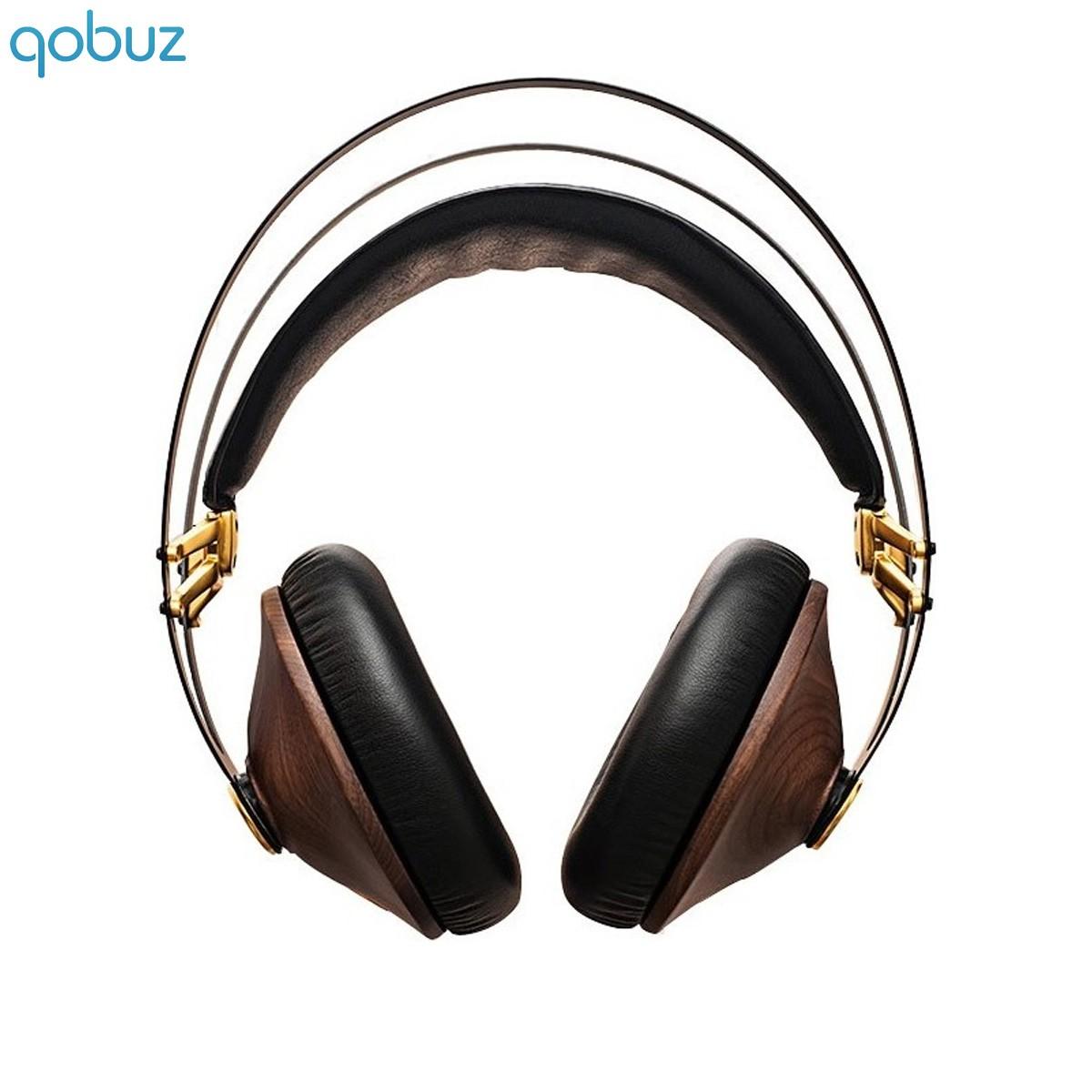 MEZE 99 CLASSICS Casque Haute Fidélité Nomade 103dB Noyer Gold