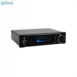 ALIENTEK D8 Amplificateur numérique FDA STA326 USB XMOS Class D 2x 80W / 4 Ohm Noir