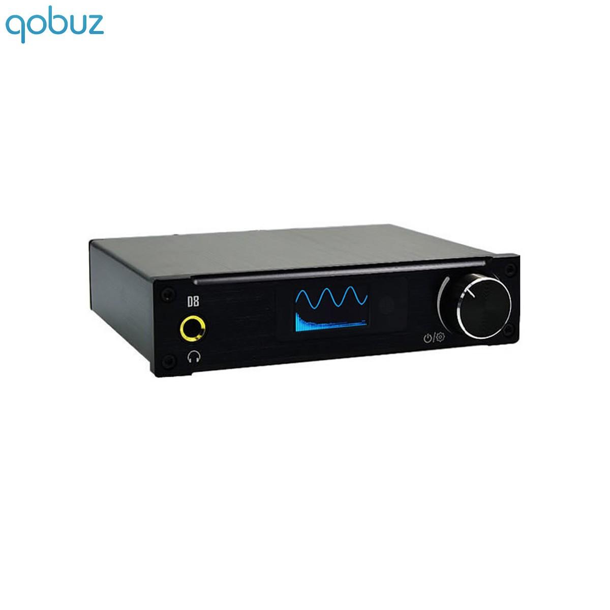 ALIENTEK D8 Full Digital Amplifier FDA STA326 USB XMOS Class D 2x 80W / 4 Ohm Black