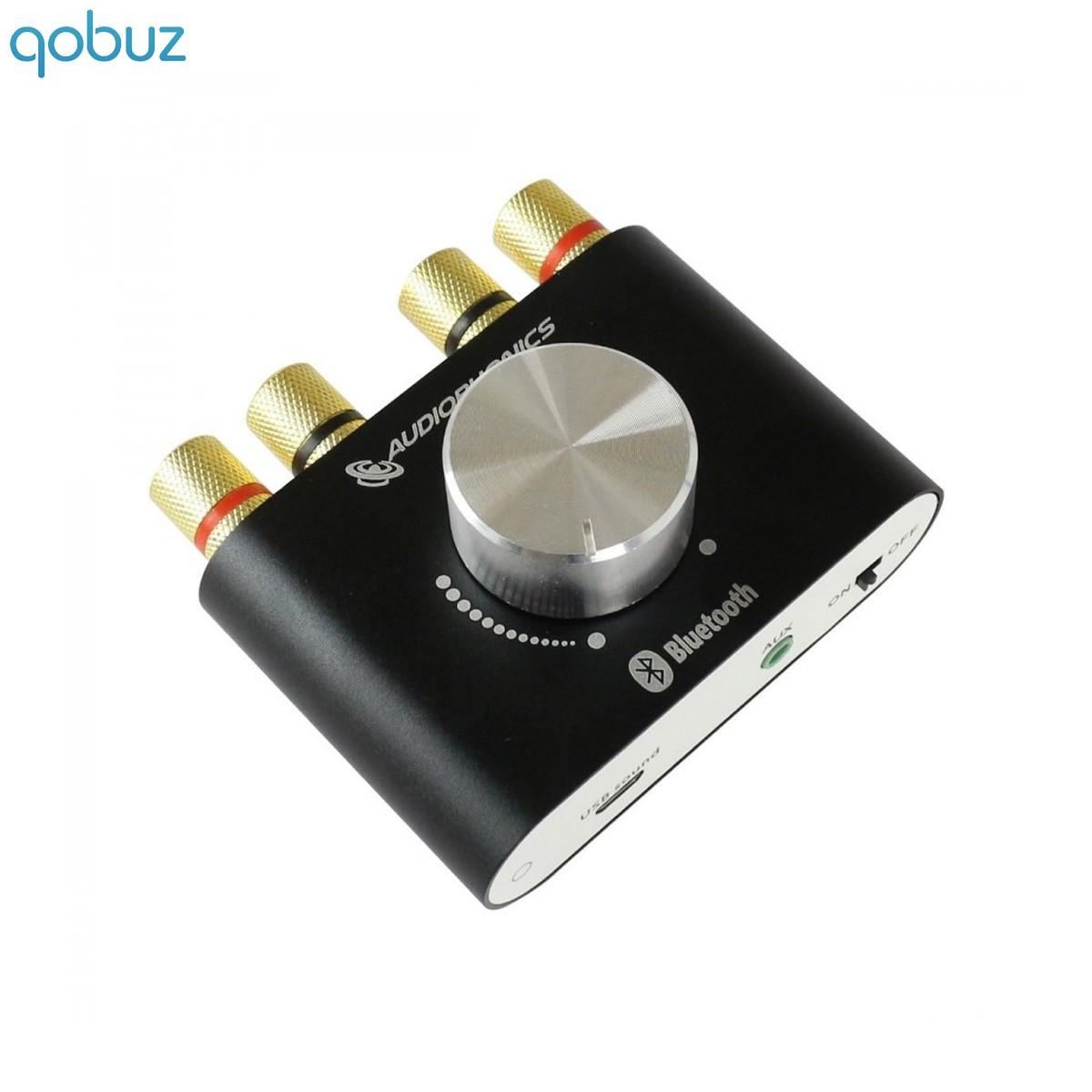 AUDIOPHONICS BT60W V2 Amplificateur TPA3116 DAC USB HiFi Bluetooth 2x50W / 4 Ohm