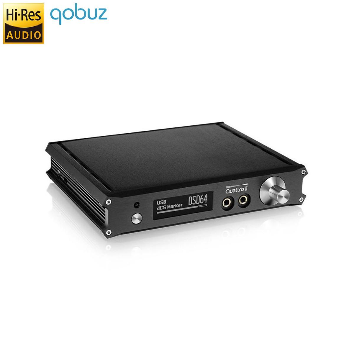 MATRIX QUATTRO II ADVANCED DAC ES9018S 32bit/384kHz DSD / Headphone Amp