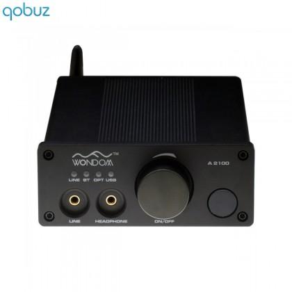 WONDOM A2100 Class D Amplifier Bluetooth 2x 100W / 6 Ohm