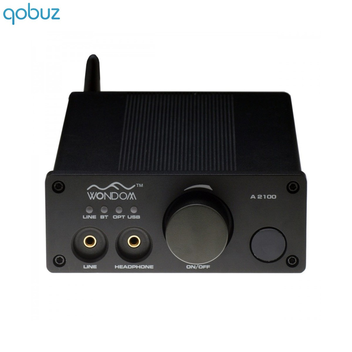 WONDOM A2100 V2 Class D 2.1 Amplifier Bluetooth 2x 100W / 6 Ohm