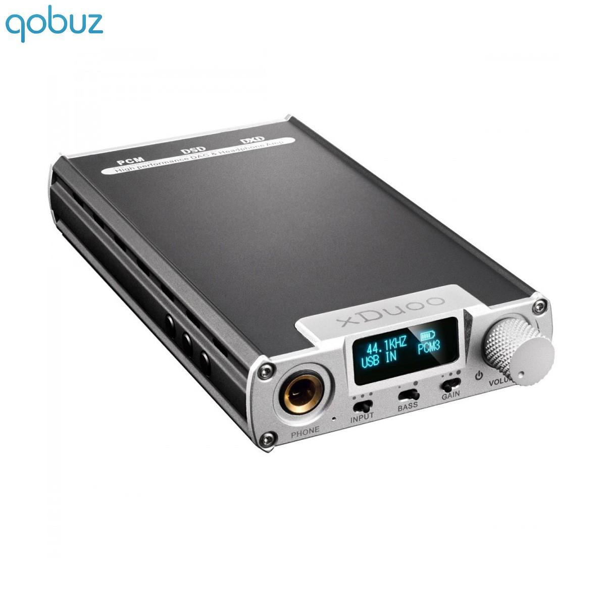 XDUOO XD-05 Ampli Casque / DAC 32Bit AK4490 Android iOS DSD sur batterie Argent