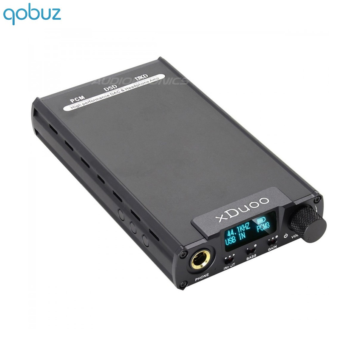 XDUOO XD-05 nomad battery 32Bit DAC AK4490 / Headphone Amp iOS AndroidDSD Black