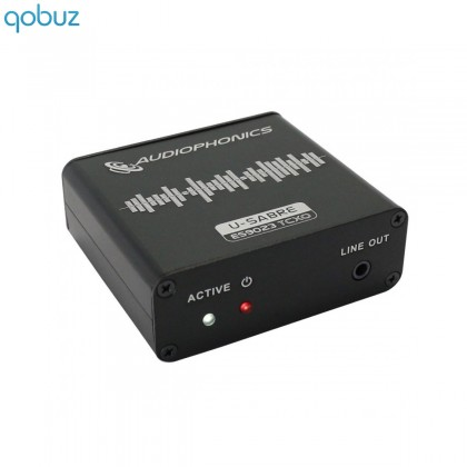 AUDIOPHONICS U-Sabre USB DAC 24bit/96kHz SA9023 / ES9023 V2.2E TCXO Edition