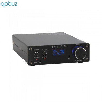 FX-AUDIO D802 Digital Amplifier STA326 stereo 2x 80W 4 Ohm