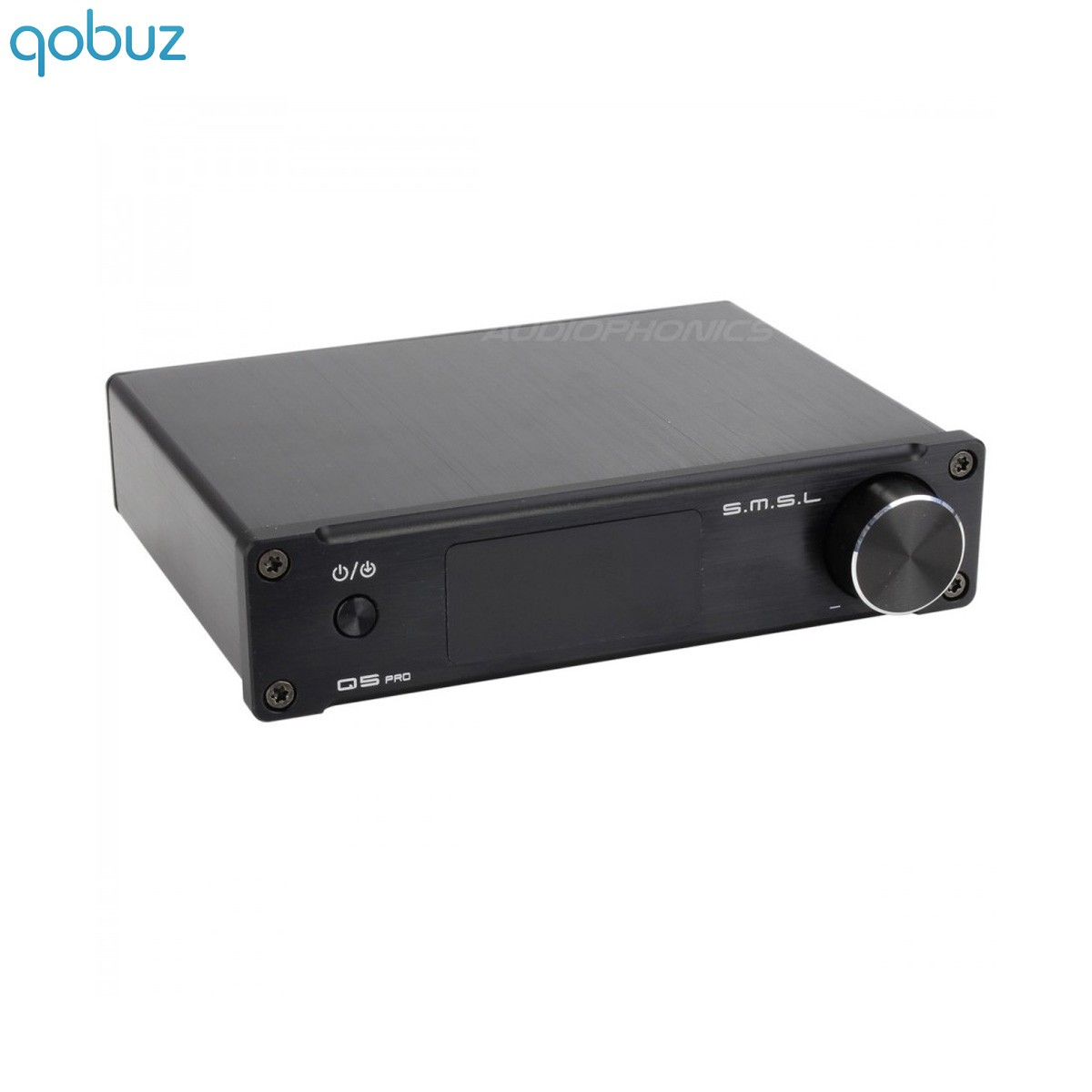 SMSL Q5 PRO FDA Amplifier TAS5342 2x45W + Subwoofer output / 4 Ohm CS5341 SA9023 Black