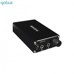 SHOZY PX-1 Portable Headphone Amplifier on battery