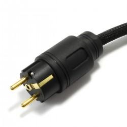 ELECAUDIO Câble Secteur OCC 3x2.5mm² C7 1.5m