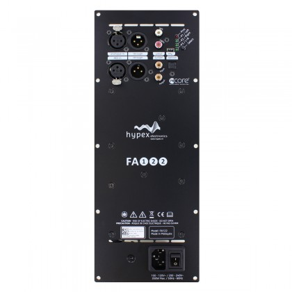 HYPEX FUSIONAMP FA501 Plate NCore Amplifier 2x125W DSP ADAU1450 DAC AK4454 192kHz