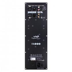 HYPEX FUSIONAMP FA123 Plate NCore Amplifier 2x125W + 1x100W DSP ADAU1450 DAC AK4454 192kHz