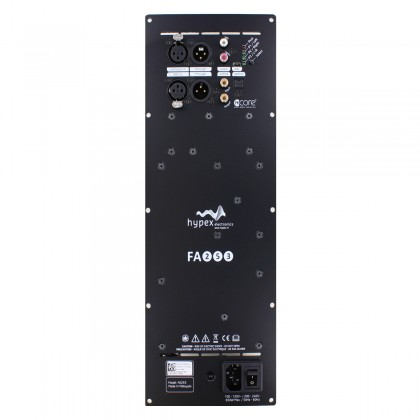 HYPEX FUSIONAMP FA253 Plate NCore Amplifier 2x250W + 1x100W DSP ADAU1450 DAC AK4454 192kHz