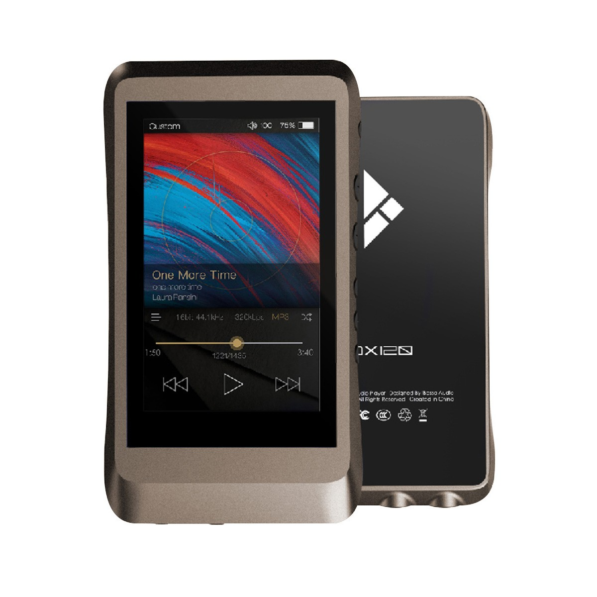 blogger.com: Cowon Plenue D High Resolution Music Player 32GB (Gold/Black): Home Audio & Theater