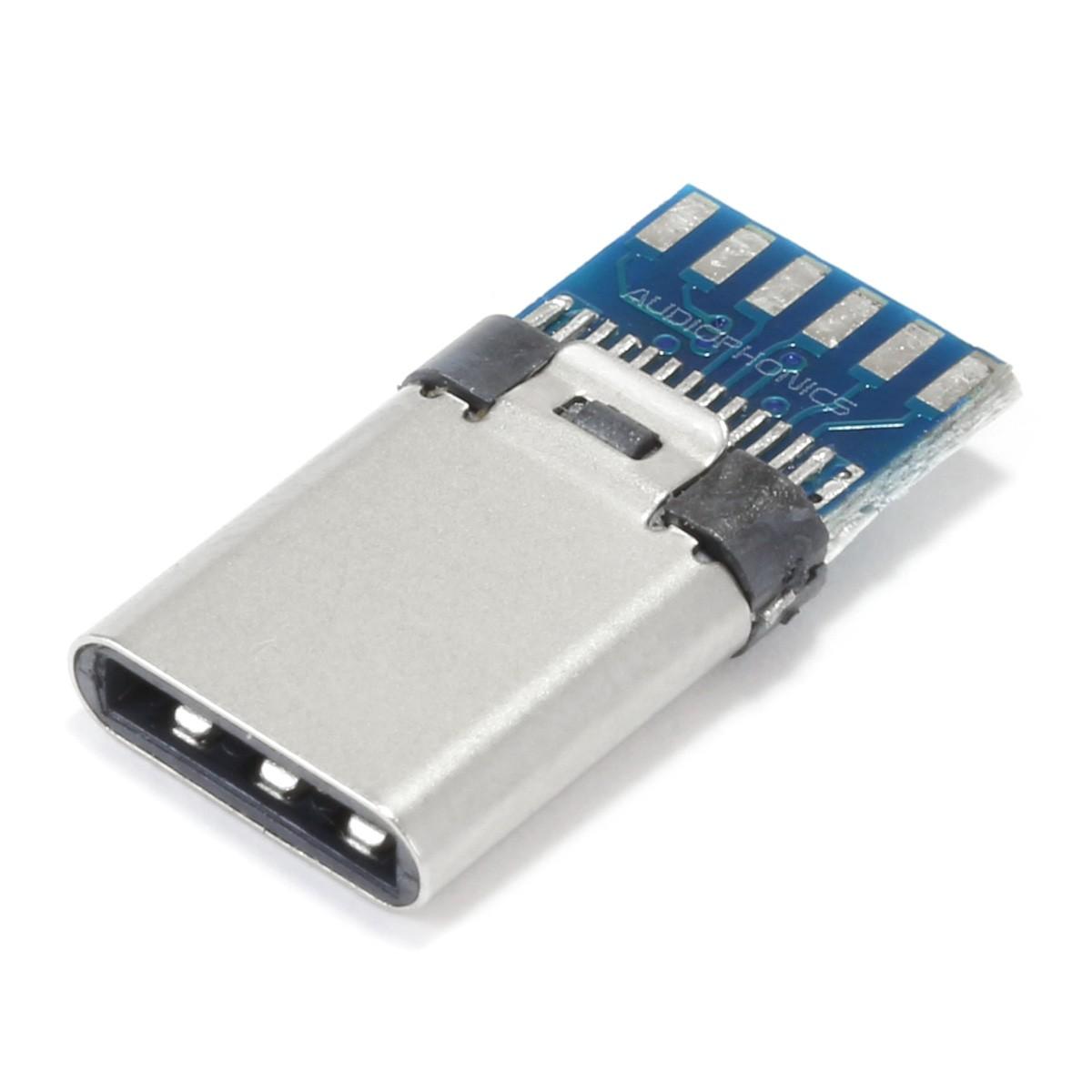 Male USB-C 3.1 DIY Connector OTG