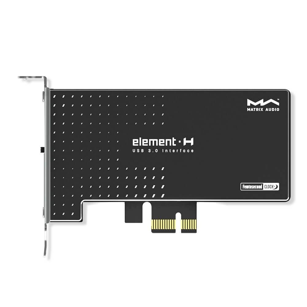 MATRIX ELEMENT H USB 3.0 Controller Jack DC PCIe Femtoclock Crystek Power Filter