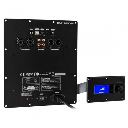 DAYTON AUDIO SPA1200DSP Module Amplificateur pour Subwoofer avec DSP 1200W