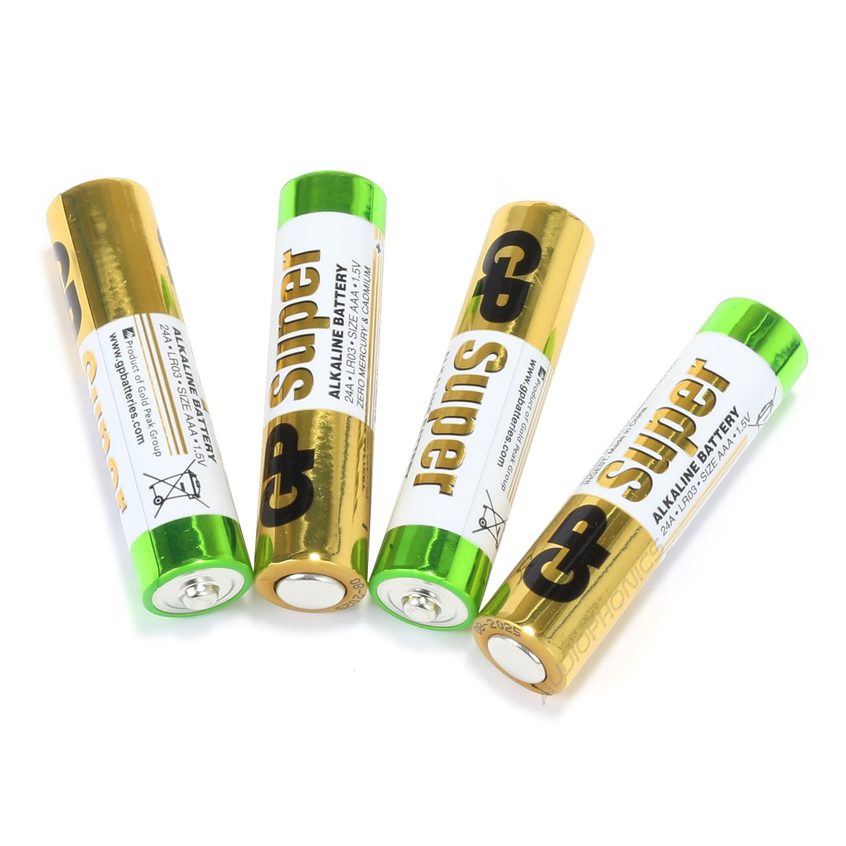 GP SUPER LR3 AAA Alkaline Battery 1.5V (Set x4)