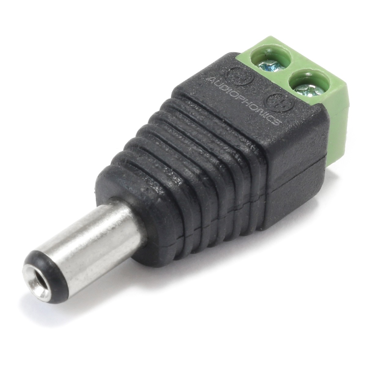Male Jack DC 5.5 / 2.1mm to Screw Terminals Adapter