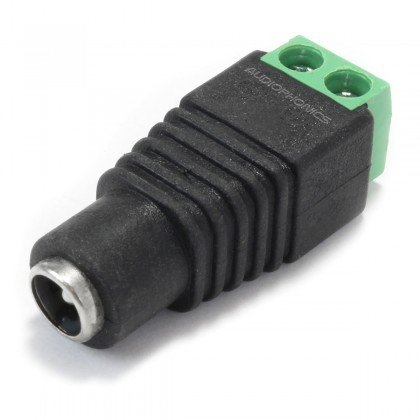 Female Jack DC 5.5/2.1mm to Screw Terminals Adapter